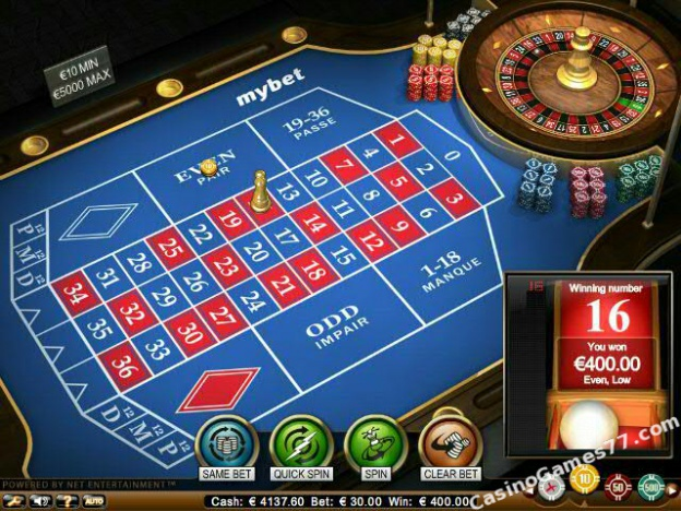 French Roulette High Limit