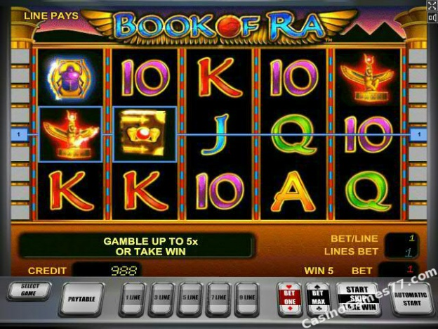 how to play casino online slot machine book of ra free