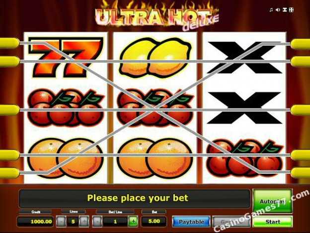 online casino neu ultra hot deluxe