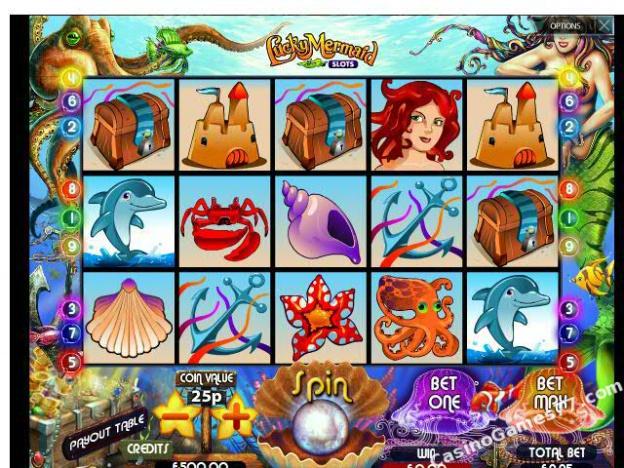 Lucky Mermaid Slots