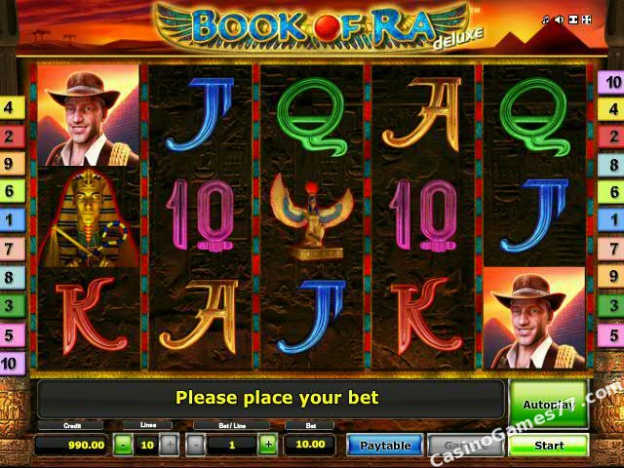 new online casino slots book of ra