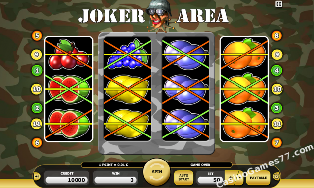 Joker area slot how many casinos in fort lauderdale