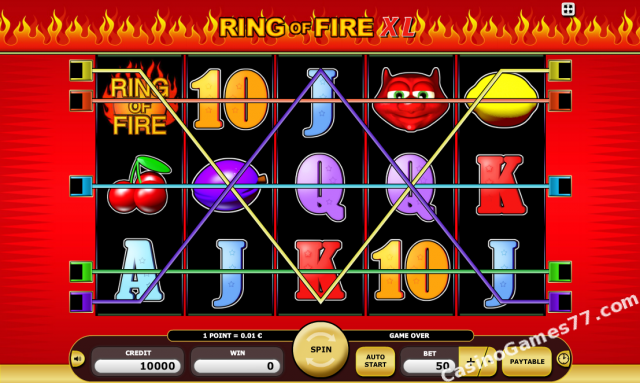 Ring Of Fire Xl Slot Game Review