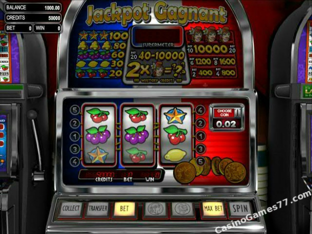 Jackpot Gagnant™ Slot Machine Game to Play Free in BetSofts Online Casinos
