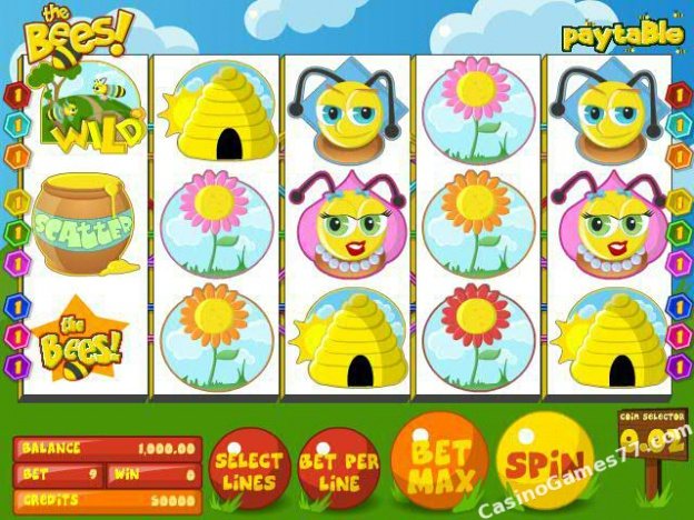 The Bees Slots - Try The Bees From BetSoft For Free