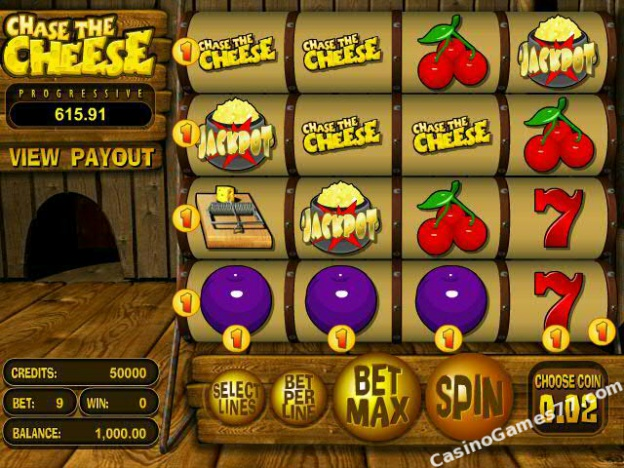 Chase the cheese™ Slot Machine Game to Play Free in BetSofts Online Casinos