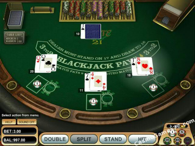 blackjack 21 online free game
