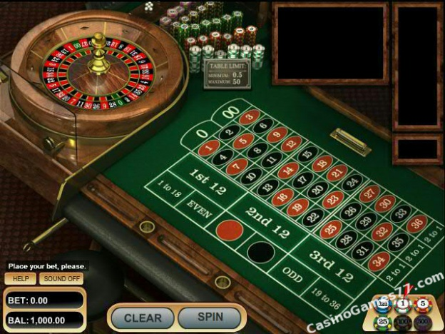 casino games play free roulette