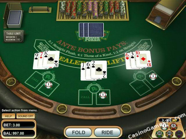 Play 3 card poker online for fun sound of slot machines