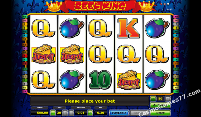casino de online reel king