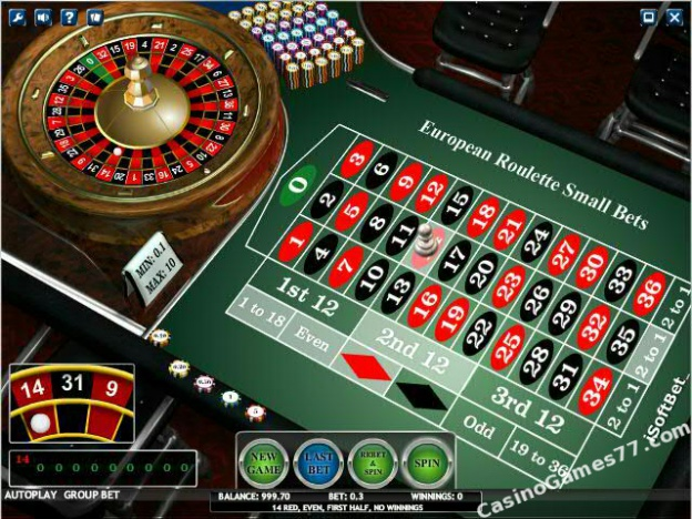 european roulette online play