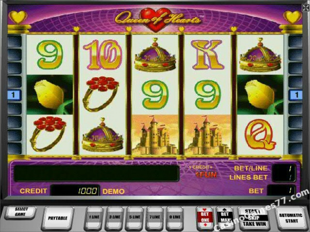 slots games online for free queen of hearts kostenlos spielen