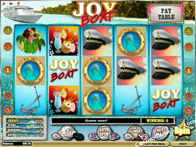 Joy Boat Slots - Play the Free iSoftBet Casino Game Online