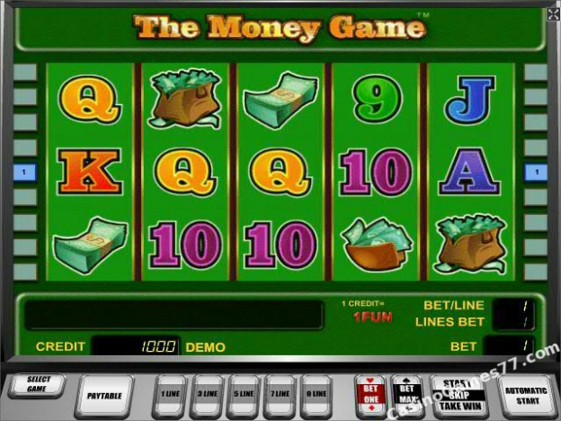 online slot games for money gaming