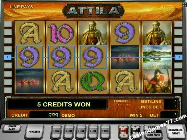Attila™ Slot Machine Game to Play Free in Novomatics Online Casinos