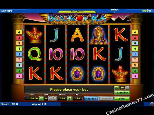 book of ra casino online sic bo