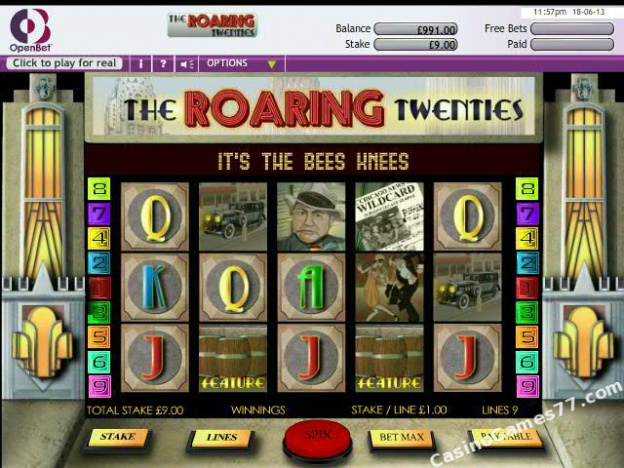 The Roaring Twenties Slot - Try the Online Game for Free Now