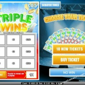 Triple Wins - Low Limit