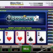 Deuces Wild Multi-Hand Video Poker