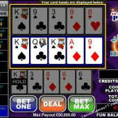All American Poker 3 Hands